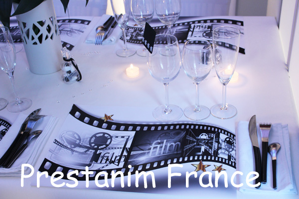Prestanim france musique et cin ma font leur d coration for Set de table original