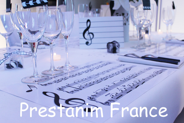 Prestanim france accessoires d cos de table for Set de table original
